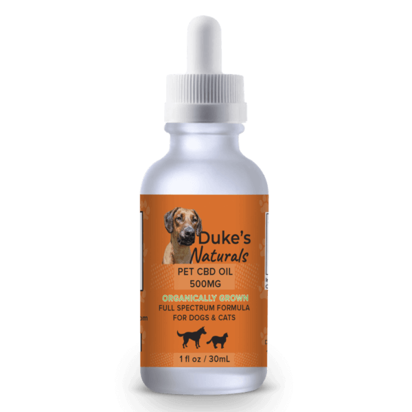 Full-Spectrum Pet CBD Oil Tincture - 500mg